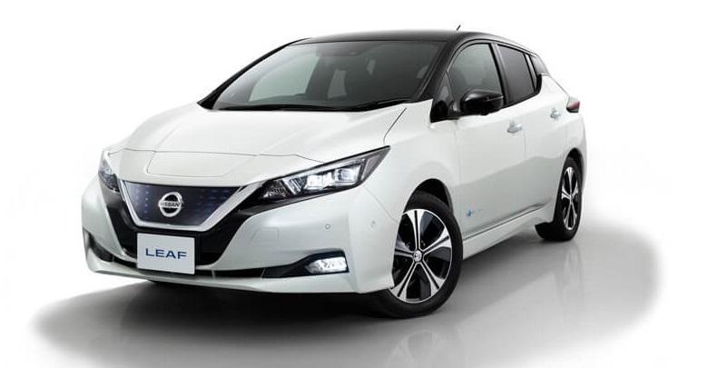 Електромобіль New Nissan Leaf  2018