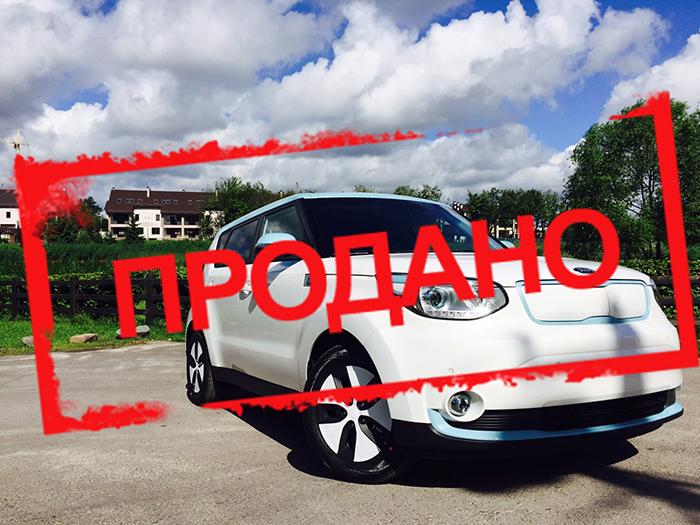 Б/у електромобіль Kia Soul EV