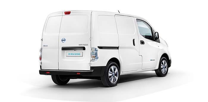 електричний фургон Nissan e-NV200