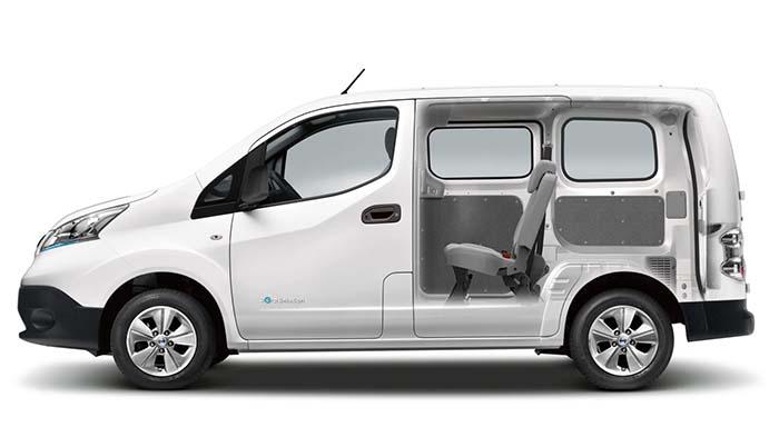 електрокар Nissan e-NV200 ціна