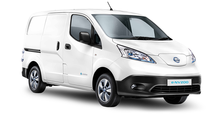 Електромобіль Nissan e-NV200