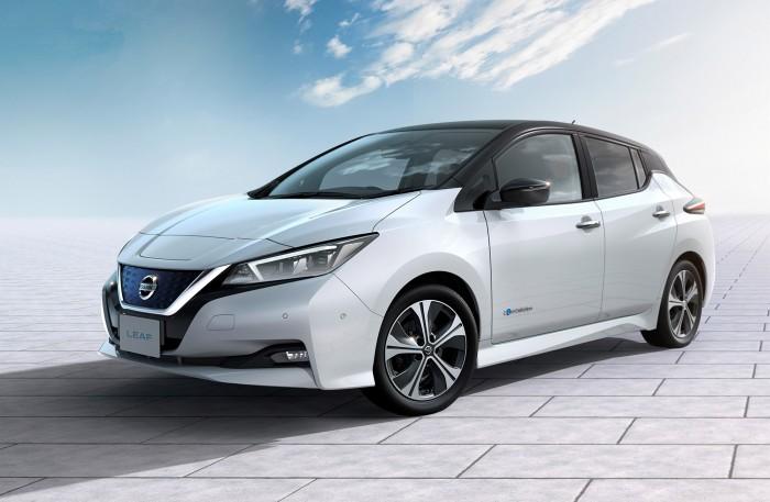 електромобілі Nissan Leaf 2018 купити