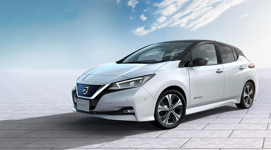 Електромобіль New Nissan Leaf  2018