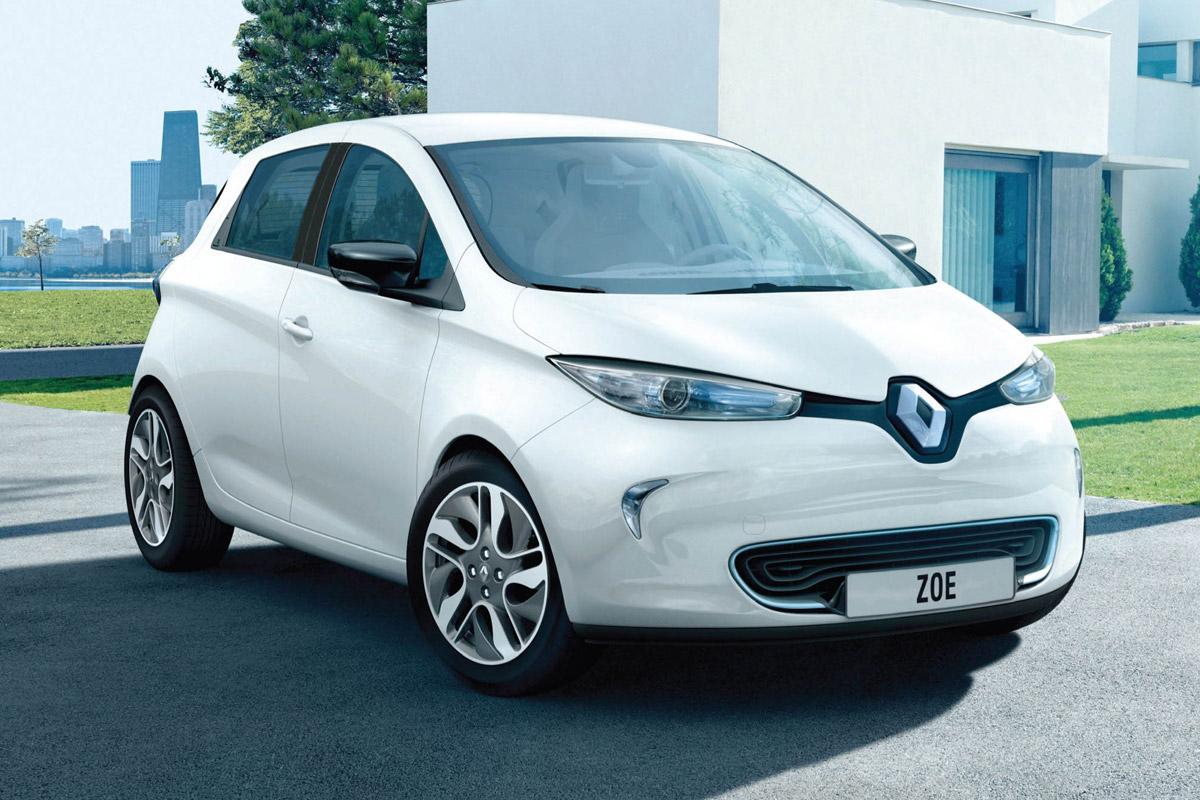 електромобіль Renault Zoe ціна
