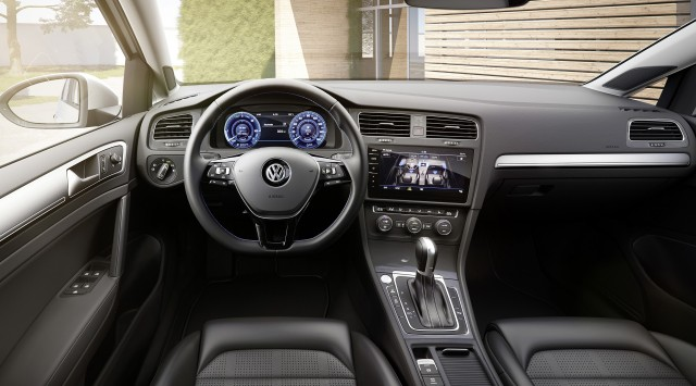 салон електромобіля Volkswagen e-Golf