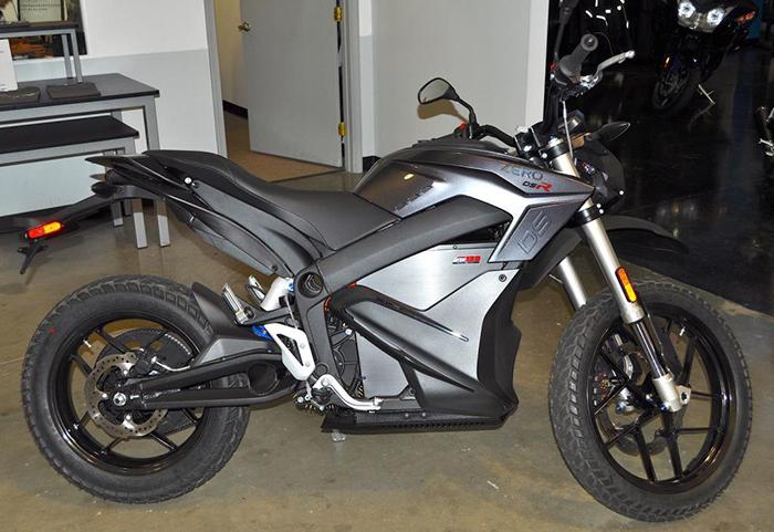 електромотоцикл Zero DSR ціна