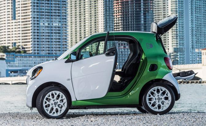 купити електрокар Smart Fortwo Electric Drive