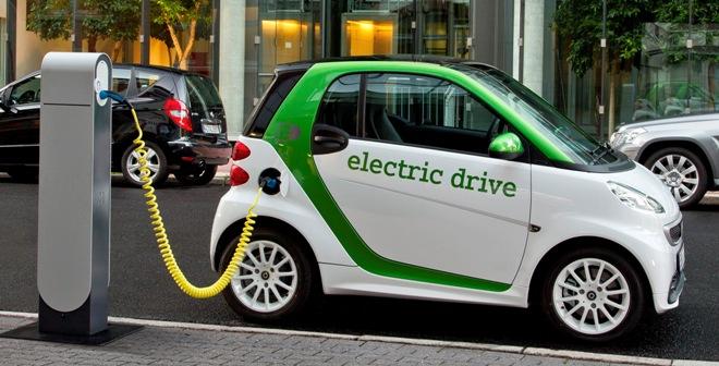 зарядка електрокару Smart Fortwo Electric Drive