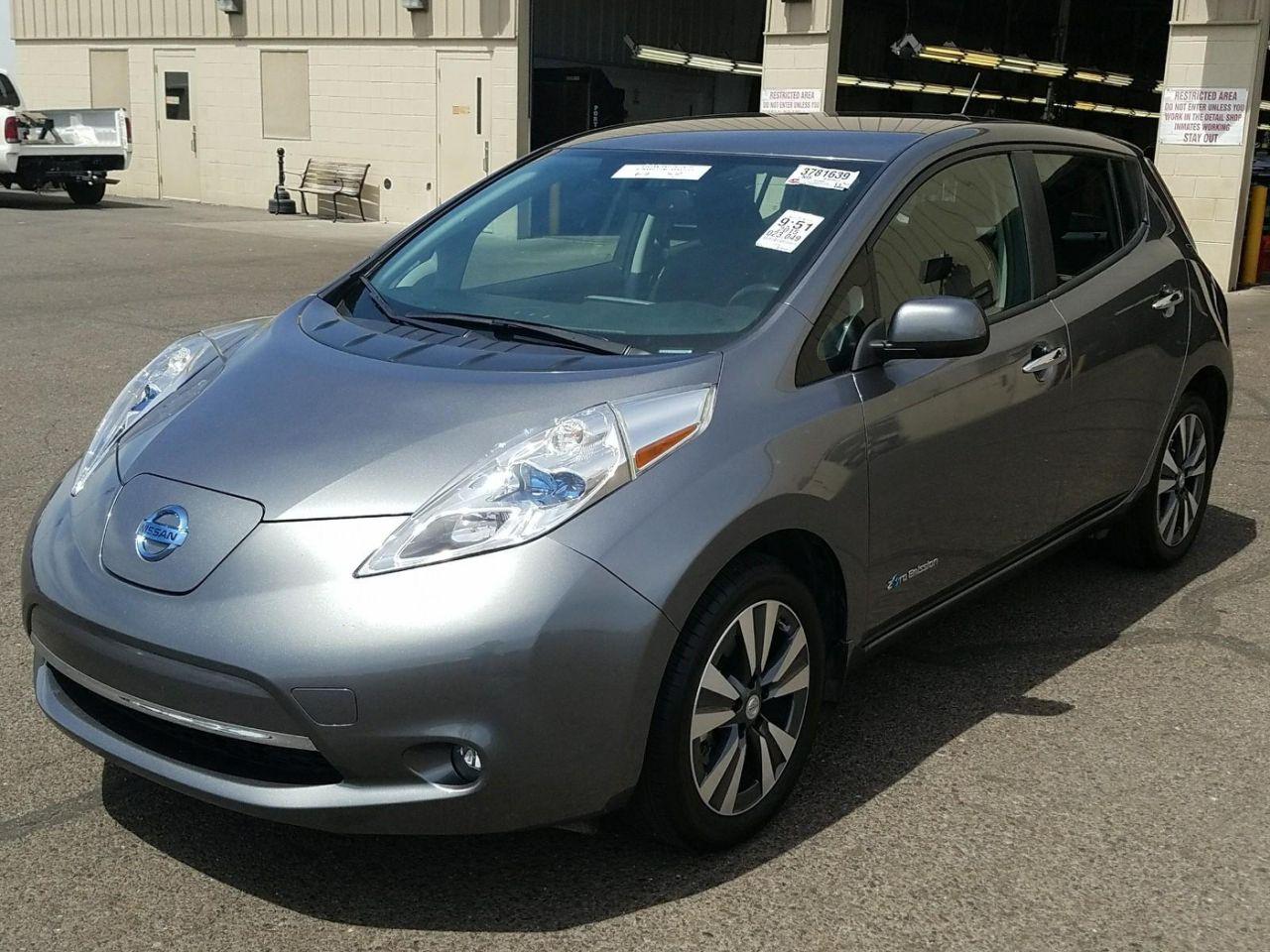 Б/у електромобіль Nissan Leaf SV