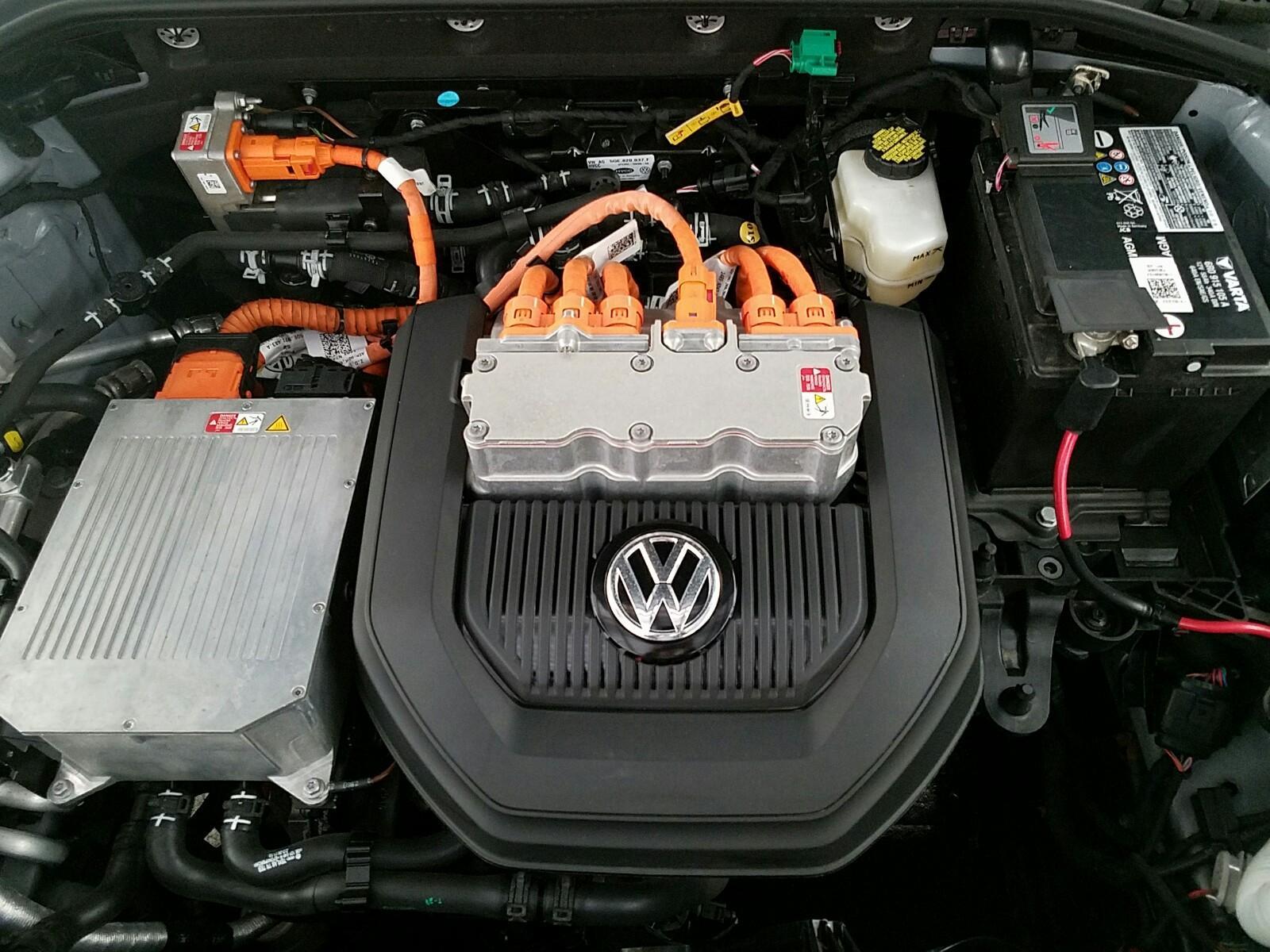 двигун б/у електромобіля Volkswagen E-Golf SEL