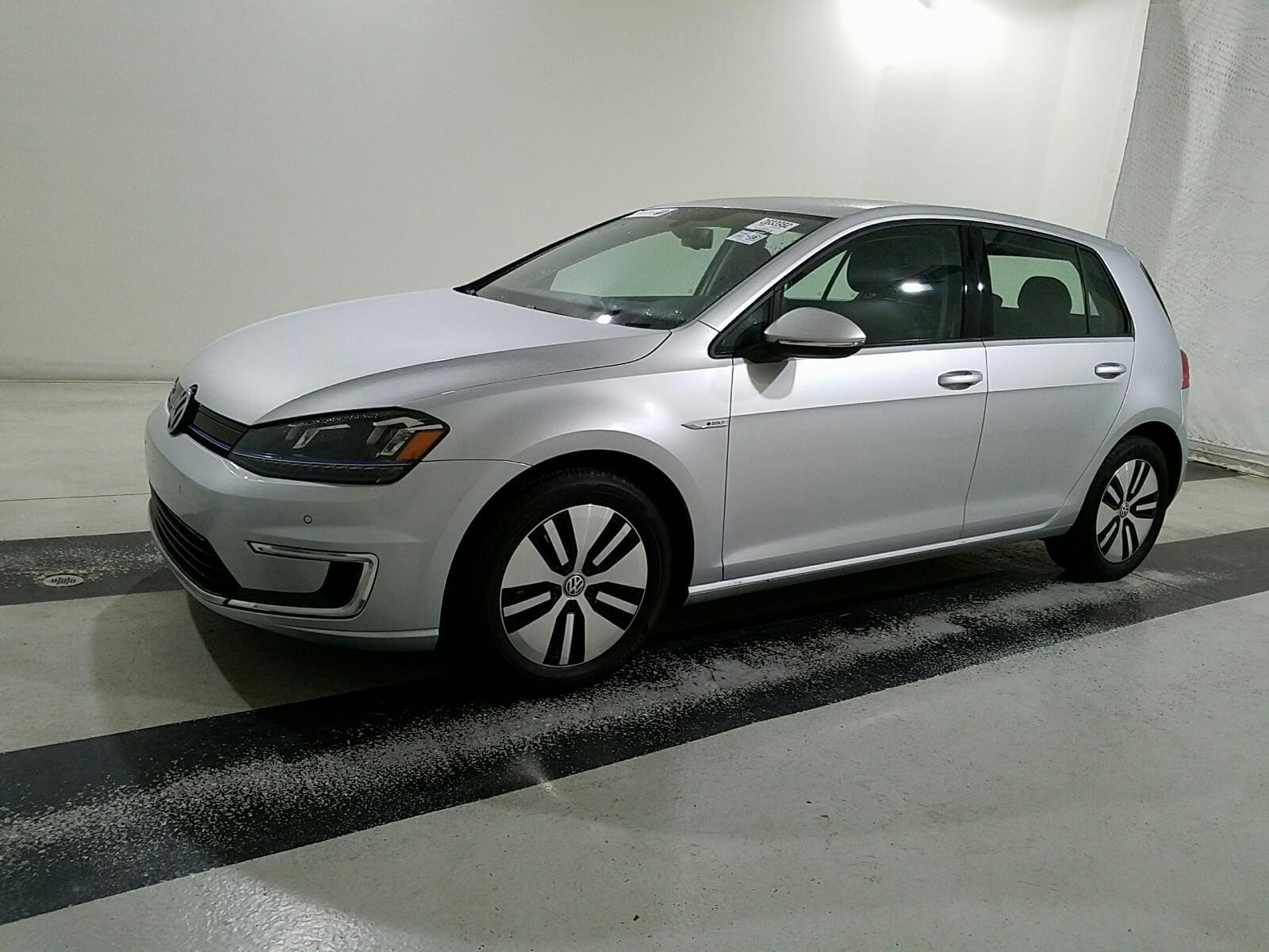 б/у електричний автомобіль Volkswagen E-Golf SEL