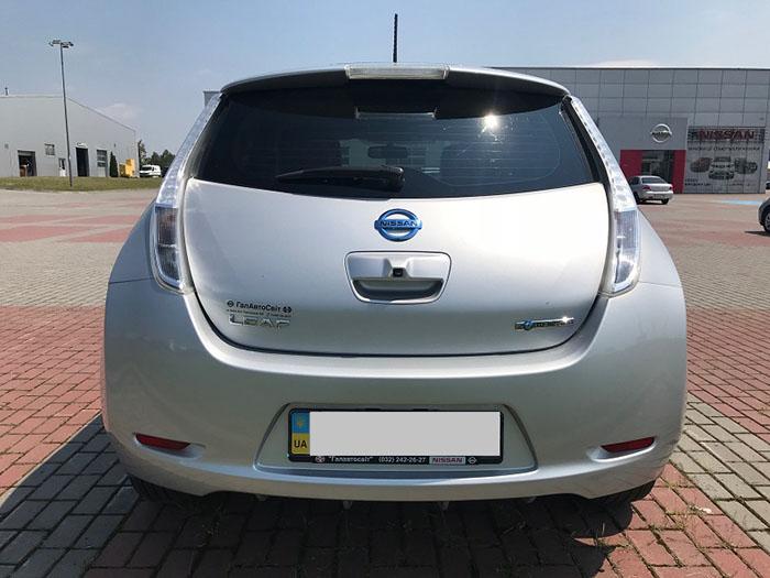 б/у електромобіль з європи Nissan Leaf SL 360 Bose 2015