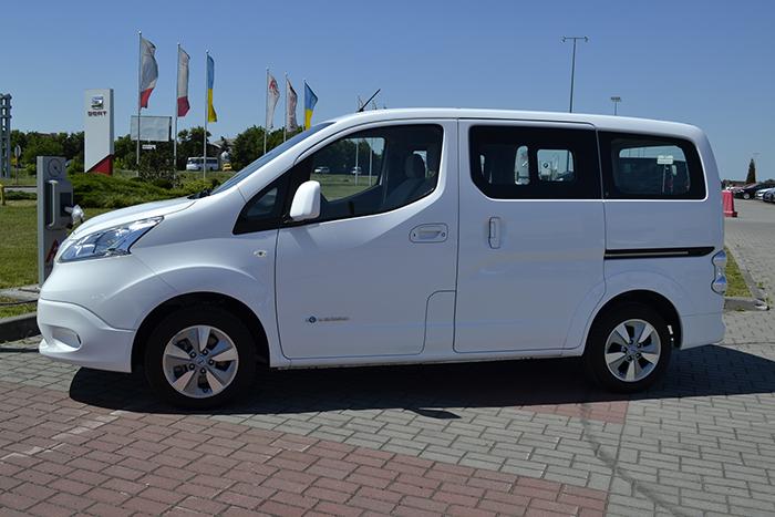 б/у електричний мінівен Nissan e-NV200 Evalia