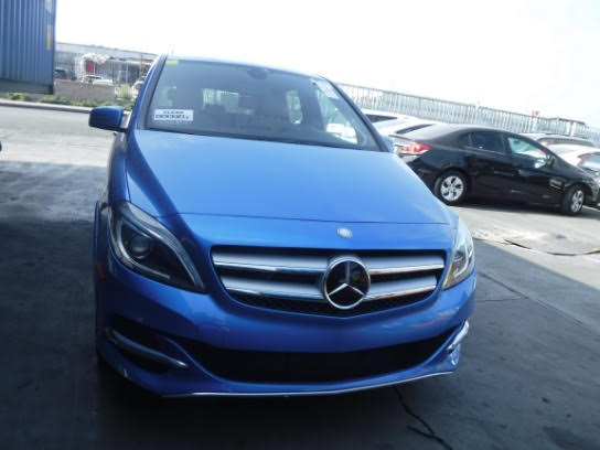 Б/у електромобіль Mercedes-Benz B-class electric drive