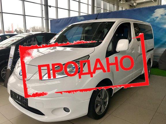 Б/у електромобіль Nissan e-NV200 Evalia 7 місць