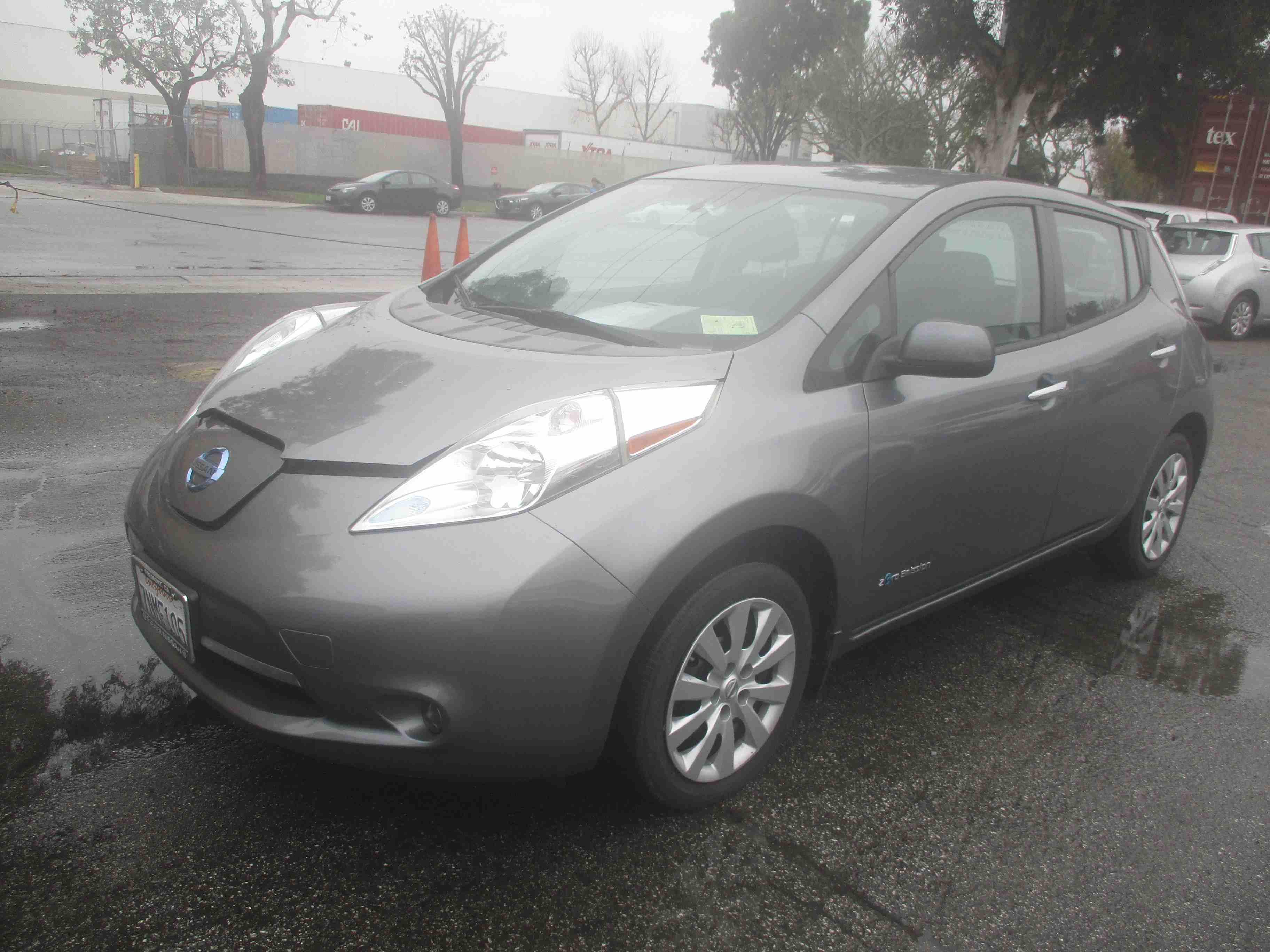Б/у електромобіль Nissan Leaf S+