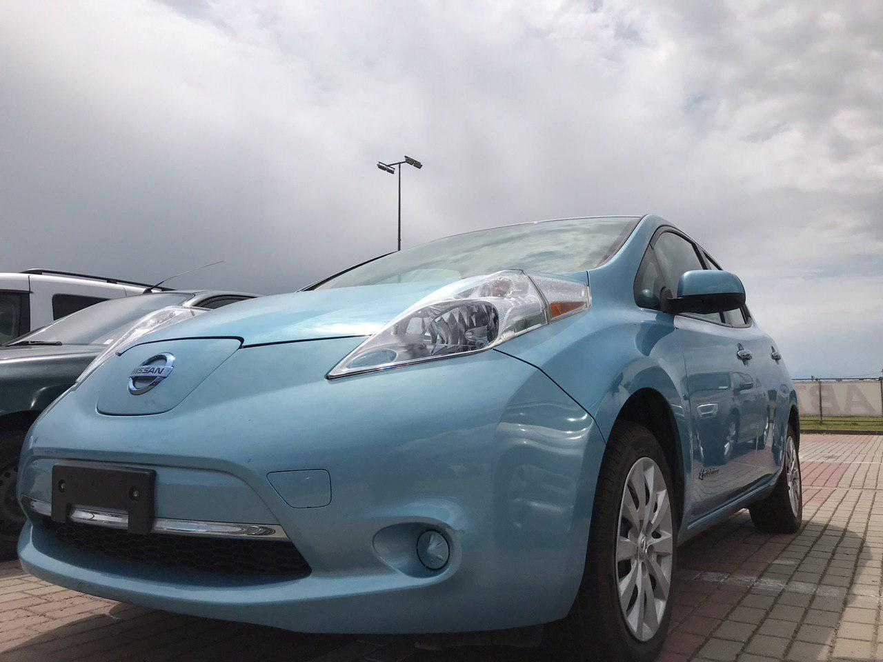 Б/у електромобіль Nissan Leaf Blue S+