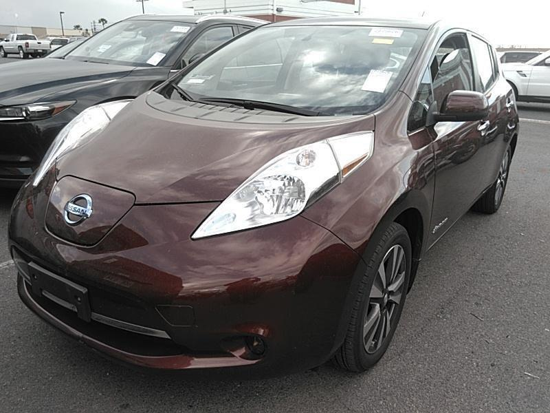 Б/у електромобіль Nissan Leaf SV red 2016