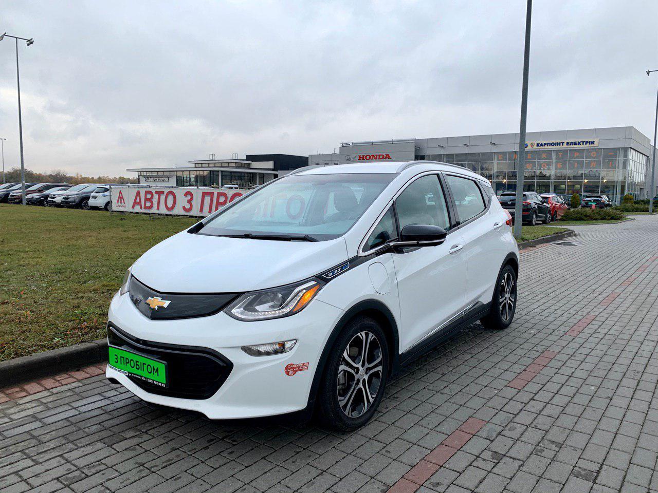 Б/у електромобіль Chevrolet Bolt